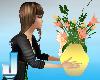 Anim Happy Easter Vase