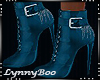 *Mallory Teal Boots