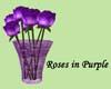 💖 Roses in Purple