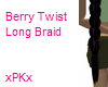 Berry Twist Lbraid