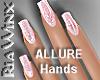 Wx:Glitter Nail Pink