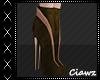 ☾ Brown Short Boots