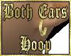 L/R Golden Hoops