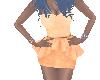 Sunburst Orange Dress