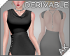 ~AK~ Gem Backless Gown