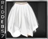Boho White Flirty Skirt