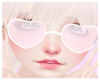 ~S~ Cutie heart glasses