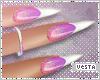 V Nails:Unicorn French