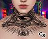 Neck Tattoo v3 | M