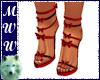 Red Butterfly Heels