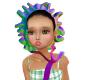 baby bonnet mesh
