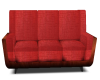 Red Fabric Couch