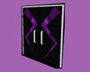 💖 Club door purple