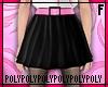 Skater Skirt Black Pink