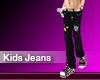 (M) Kids Jeans Black