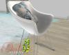 ID: Akoya vanity chair