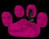 ⓅAnim. Paw Couch Pink