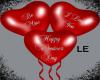 Red Valentine Balloons