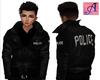 Police Leather Jacket