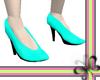 Siren Shoes CYAN