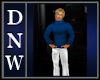 NW Blue Wool Sweater