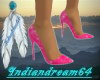 (i64)sexy pink heels