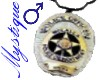 Police Badge 1 - Male