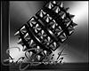 ~DM~ Spiky Bracelet BLK