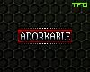 FC; Adorkable Badge