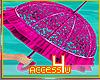 ! Pink Love Umbrella