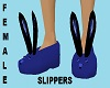 FEMALE BLUE DH SLIPPERS