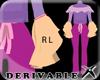 !DERIV RL fit + Ruffle