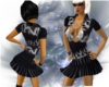 Biker Black dress V2