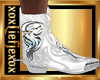 [L] White WOLF Boots M