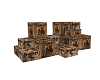 Country Whiskey Crates