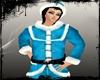 blue santa top x-mas