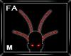 (FA)ParticleHornsM Red