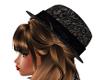 PD ~ Black Lace Fedora