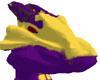 Purple/Yello Dragon Head