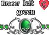 Bracer1 Green LEFT