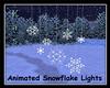 Hanging Snowflake Lights