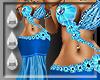 (I) Eden Gown Blue (XXL)