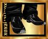 [L] Black Cowboy boots