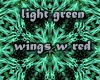 light green wings w red