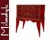 MLK Red J Chest table