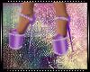 Purple Glamour Heels