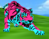 Pink Blue Tiger PET