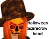 Halloween Scarecrow head