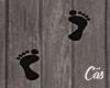 f Ghostly Footprints
