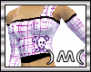 )M( Plaid Purple